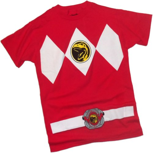 Red Ranger Costume -- Mighty Morphin Power Rangers T-Shirt