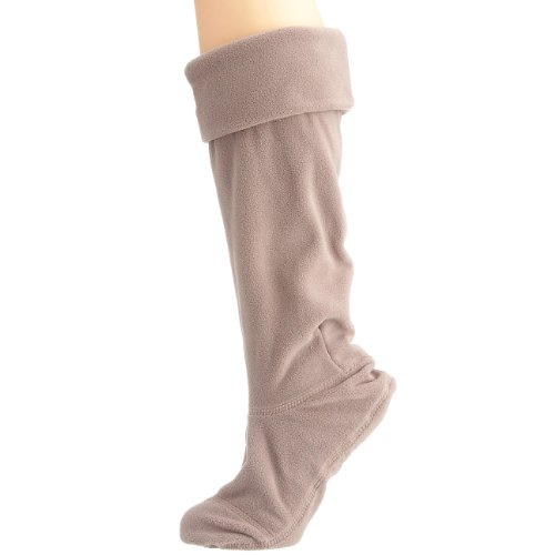 Hunter Fleece Welly Socks Charcoal Large