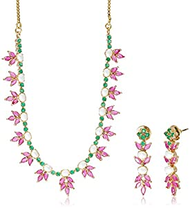 Buy Sia Art Jewellery Set For Women Multi Color AZ1090 Online At Low Prices In India