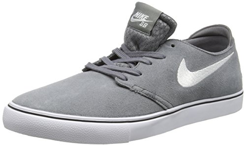 Nike Men's Zoom Oneshot SB Cool Grey/White/Gm Lght Brwn/Blk Skate Shoe 10.5 Men US (Cool Skate Shoes compare prices)