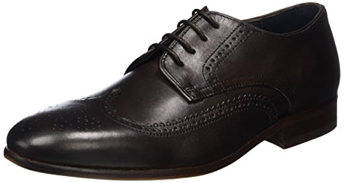 Ben ShermanRAME Brogue Derby - Scarpe stringate Uomo , Marrone (Braun (Bitter Chocolate)), 42