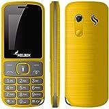 Melbon Dude 33-Yellow Dual Sim GSM With Multimedia Camera Mobile Phone