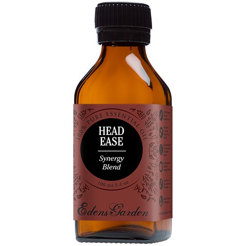 Head Ease Synergy Blend Essential Oil by Edens Garden (Comparable to DoTerra's PastTense & Young Living's M-Grain Blend)- 100 ml
