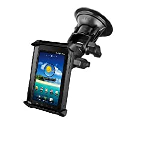 WINDSHIELD SUCTION CUP CAR SUV MOUNT FOR SMALL TABLETS WITH THICK SKINS CASES