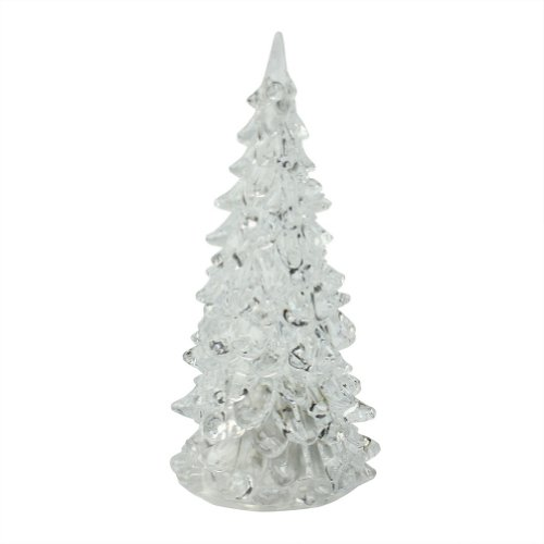 Icy Crystal Color Changing Christmas Tree Style Led Table Lamp Light Decoration