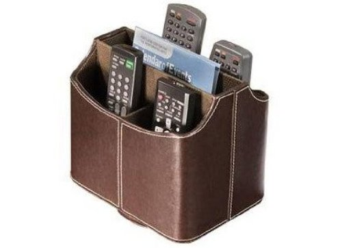 New Tv Remote Control Holder Caddy Bedside Arm Chair Holds