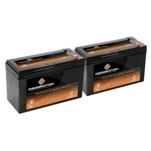 12V 8.5Ah Sla Battery Replaces Hr-1234W-F2 - 2Pk