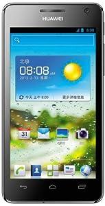 Huawei Ascend G600 Smartphone (11,4 cm (4,5 Zoll) Touchscreen, 8 Megapixel Kamera, 4 GB Interner Speicher, Android 4.0) schwarz