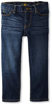 Lucky Brand Little Girls' Cate Skinny Straight Jean, Dark Indigo, 6X