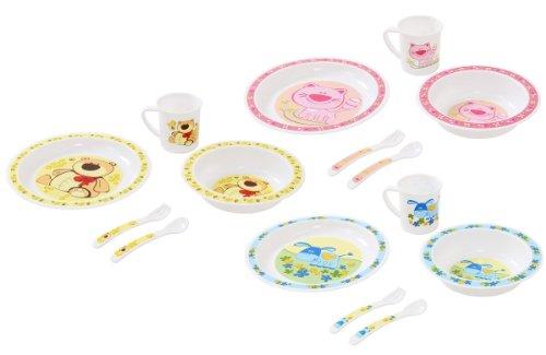 Baby-Kinder-Geschirr-Set-Kindergeschirr-Groes-Ess-Lern-Set-5-tlg