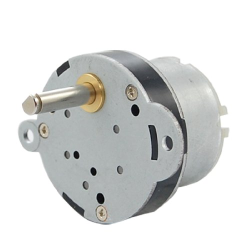 40mm dc 12v 2rpm high torque electric gearbox motor new for Small electric motor repair parts