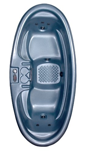 Purchase QCA Spas Model 0 Gemini Plug and Play Hot Tub, 92 by 42 by 29-Inch, Blue Denim
