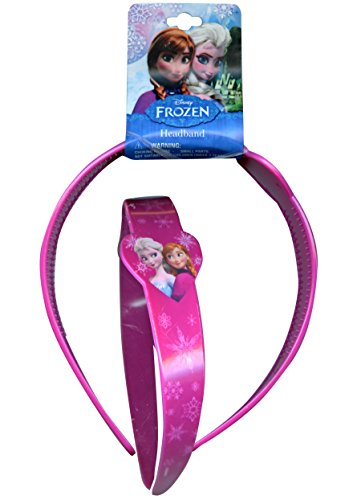 Disney Frozen Elsa and Anna Girls Wide Headband