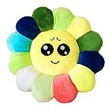 Vovotrade smiley oreillers expression de tournesols amortir intervenir jouet don (environ 50 * 50 * 10 cm, jaune)...