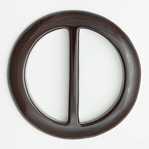 "2pcs 2"" BROWN Round Acrylic Buckle for belt, handbag, fashion accessories, 2PCS, SP-2142"