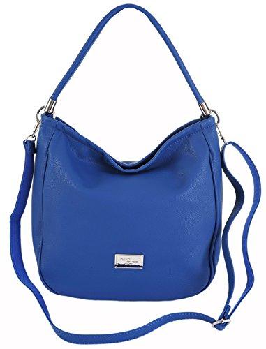 david-jones-lightweight-bucket-hobo-shoulder-crossbody-bag-4-colours-cm3006-blue