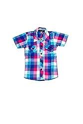Hushbhi Boy's Shirt (Hb0002_Multi-Coloured_3-4 Y)
