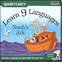 "Learn 9 Languages Noah""S Ark front-60676"