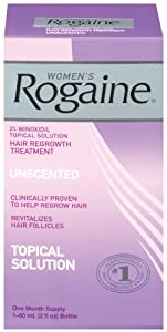 Rogaine for Women Hair Regrowth Treatment, 2 Ounce