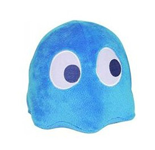 "Pac-Man 4"" Plush Ghost With Sound: Blinky Blue"