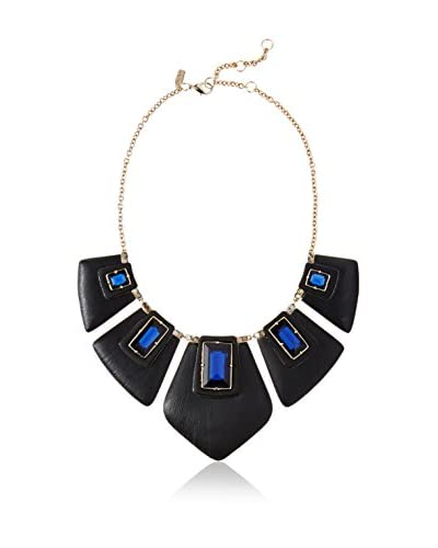 Alexis Bittar Articulating Bib-Cabochon/Baguette Matte Necklace As You See