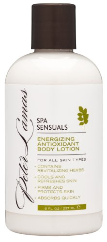 Peter Lamas Spa Sensuals Energizing Antioxidant Body Lotion, 8 Fl Oz