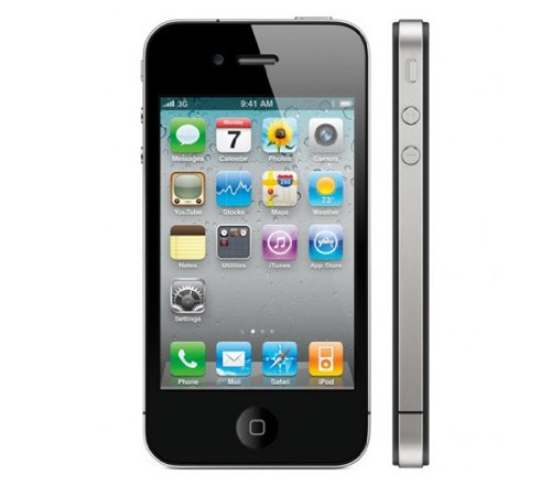 Virgin Mobile - Apple Iphone 4 with 8gb Memory No-contract Phone - Black (Used Virgin Mobile Iphone compare prices)