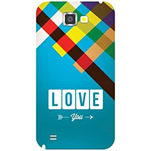 Samsung Galaxy Note 2 N7100 Back Cover - Love Designer Cases
