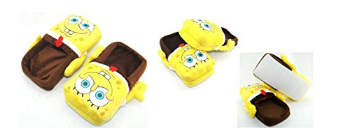 Spongebob Plush Slipper Adult Size fit up to 10.5