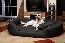 tierlando® S5-02 SAMMY Extra ROBUST Hundesofa Hundebett Gr. XXL 140cm Graphit/Grau
