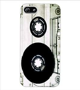 ColourCraft Retro Audio Cassette Design Back Case Cover for APPLE IPHONE 5S