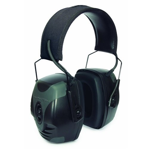 Howard Leight by Honeywell Impact Pro Sound Amplification Electronic Earmuff (R-01902) (Honeywell Ear Muffs compare prices)