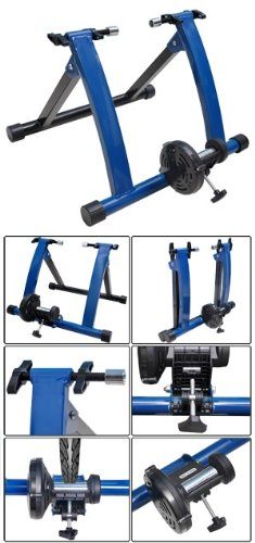 Indoor Cycling Stationary Mag Resistance Bicycle Trainer