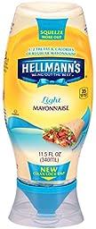 Hellmann\'s Light Mayonnaise, Squeeze 11.5 oz