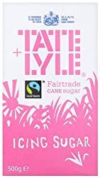 Tate & Lyle Icing Sugar - For Icing and Dusting (Fairtrade Cane Sugar), 500g