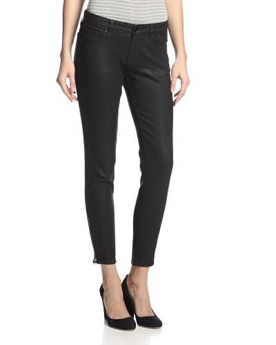 D-ID Women's Derby Zip Ankle Skinny Jean