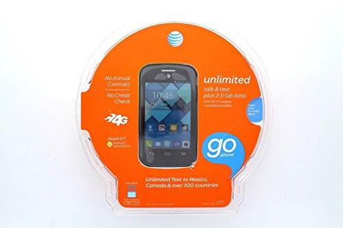 AT & T GoPhone 4G Alcatel C1™ Smartphone - 6252A