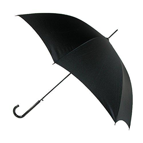milan-46-inch-auto-open-crook-handle-umbrella-black