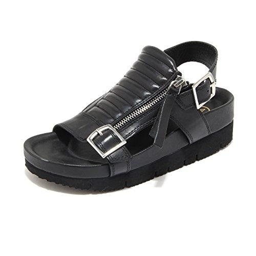 4078L sandali neri zeppe donna ASH touch scarpe sandals women [35]