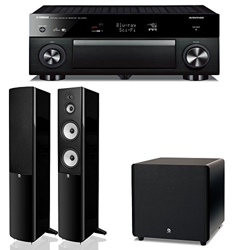 Av receivers amplifiers reviews review yamaha rx for Yamaha surround system review