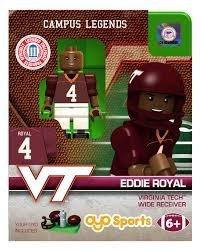 Eddie Royal OYO Generation 1 G1 Virginia Tech Hookies NCAA LE Mini Figure