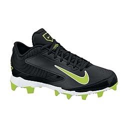 Nike Huarache Low - Black/Volt - Size 4.5Y