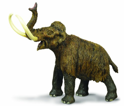 Safari Ltd  Dinosaurs Woolly Mammoth Toy Figure