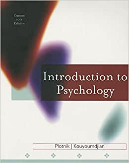 introduction to psychology plotnik 10th edition pdf