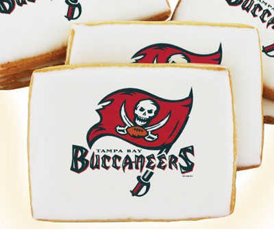 NFL Tampa Bay Buccaneers Cookies 16 pc Gift Box