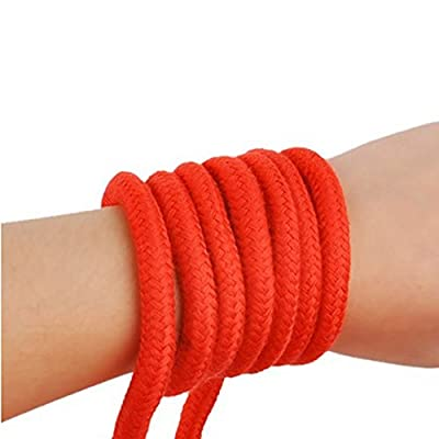 Tenflyer Sexy Toy Rope Accessories Adult Couple Supplies Constraint Multipurpose 10m Long Red