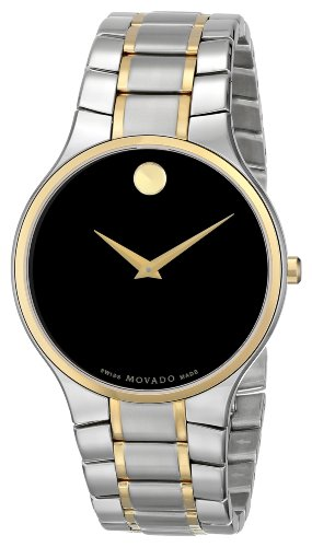 "Movado Men's 0606388 ""Serio"" Stainless Steel Watch"