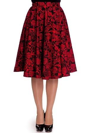 Hell Bunny Arcadia 50's Skirt M - US 8