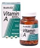 HealthAid Vitamin A 5000iu 100 capsule