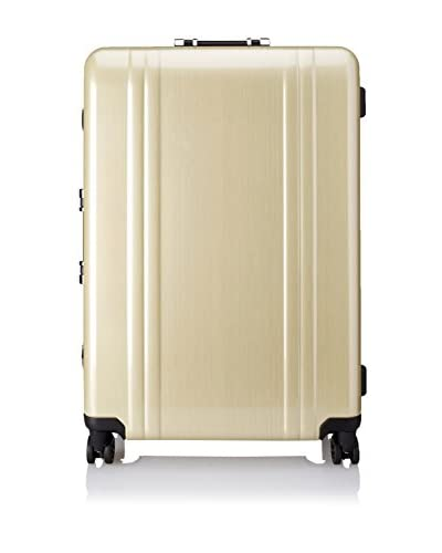 ZERO Halliburton Classic Polycarbonate 28 4-Wheel Spinner Travel Case, Gold